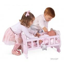 Schaukel-Wiege aus Holz für Puppen Magic María De Cuevas Toys 55134 | De Cuevas Toys