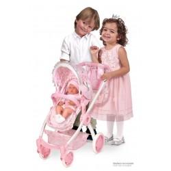 Faltwagen  für Puppen 3X1 Magic María De Cuevas Toys 80534 | De Cuevas Toys