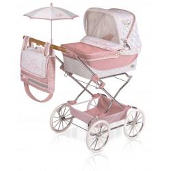 Faltwagen für Puppen Reborn Classic Romantic De Cuevas Toys 82038