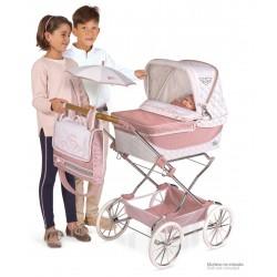 Faltwagen für Puppen Reborn Classic Romantic De Cuevas Toys 82038 | De Cuevas Toys