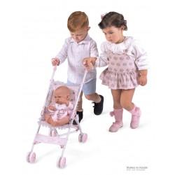 Faltstuhlwagen für Puppen Magic María De Cuevas Toys 90034