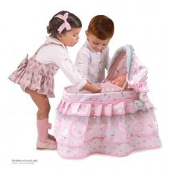 Mein Erstes Tragkörbchen für Puppen Magic María De Cuevas Toys 51134 | De Cuevas Toys
