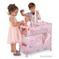 Faltkleiderschrank für Puppen Magic María De Cuevas Toys 53034 | De Cuevas Toys