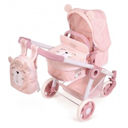Faltwagen für Puppen Tiere Little Pet 3x1 DeCuevas Toys 80539
