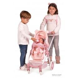 Faltwagen für Puppen Tiere Little Pet 3x1 DeCuevas Toys 80539 | DeCuevas Toys