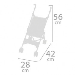 Faltstuhlwagen für Puppen DeCuevas Toys 90096 | DeCuevas Toys