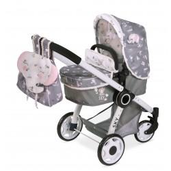 Faltwagen für Puppen 3x1 Sky DeCuevas Toys 80535