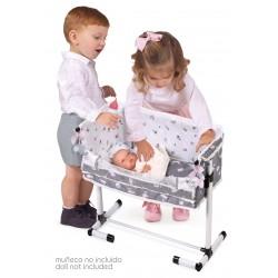 Regulierende Puppenwiege Schlaf mit Mir Sky DeCuevas Toys 51235 | DeCuevas Toys