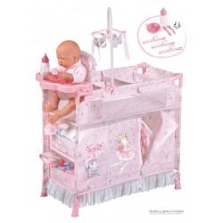 Faltkleiderschrank für Puppen Magic María De Cuevas Toys 53034