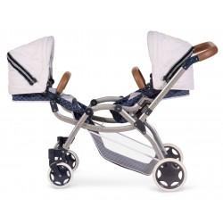 Zwillinge Faltwagen für Puppen  Top Collection 80337 | DeCuevas Toys