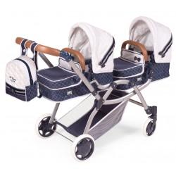 Zwillinge Faltwagen für Puppen Top Collection 80337