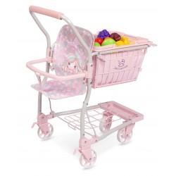 Einkaufswagen mit Babytrage Ocean Fantasy DeCuevas Toys 52141