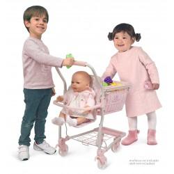 Einkaufswagen mit Babytrage Ocean Fantasy DeCuevas Toys 52141 | DeCuevas Toys