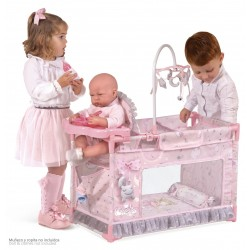 Klein-Umziehpark-Wiege für Puppen Magic María De Cuevas Toys 53134 | De Cuevas Toys