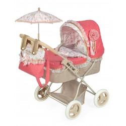 Faltbarer Puppenwagen mit Sonnenschirm Martina DeCuevas Toys 85033