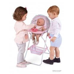 Falthochstuhl für Puppen Magic María DeCuevas Toys 53234 | DeCuevas Toys